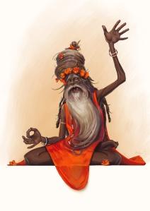 hindu_guru_by_maykrender-d4ochky
